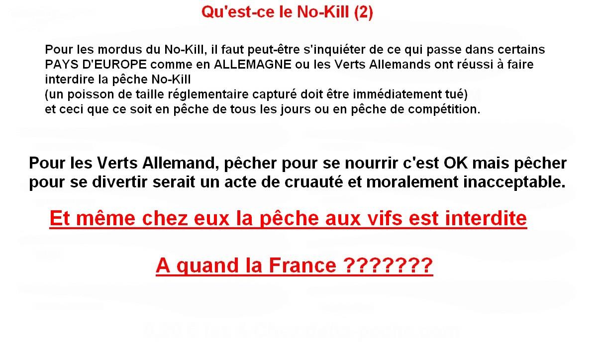 QU'EST-CE QUE LE NO KILL (2)