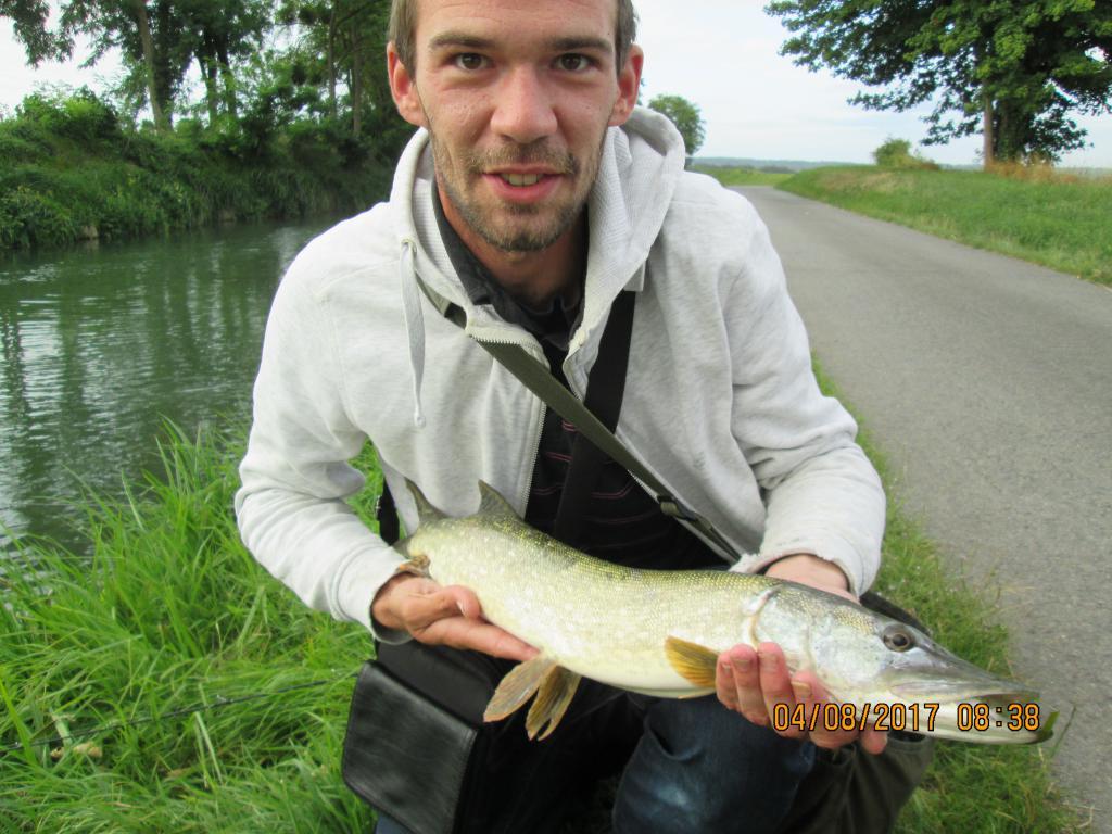 63cm.Canal Fresne.Le 4 AOUT 2017