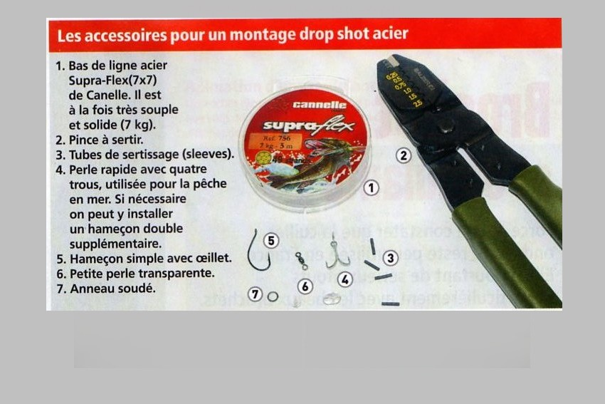 Drop Shot Acier