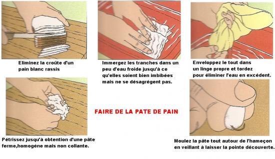 FAIRE DE LA PATE DE PAIN