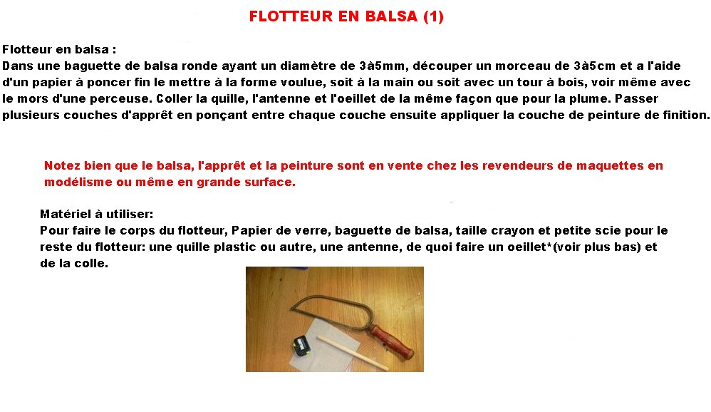 FLOTTEUR EN BALSA (1)