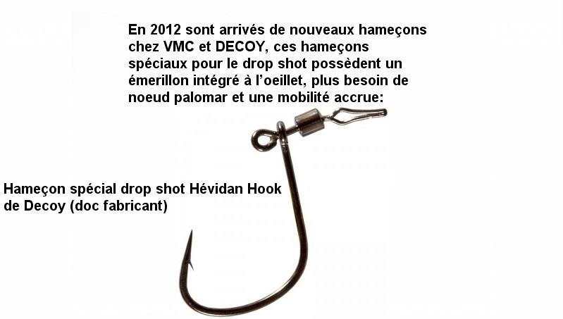 Hameçon pour drop shot