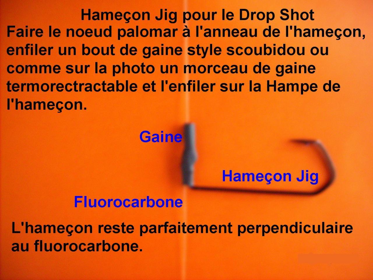 Hameçon Jig pour le Drop Shot