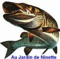 """Au Jardin de Ninette """"Article de pêche"""""""